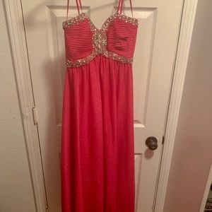 Dresses & Skirts - Hot Pink Formal Gown